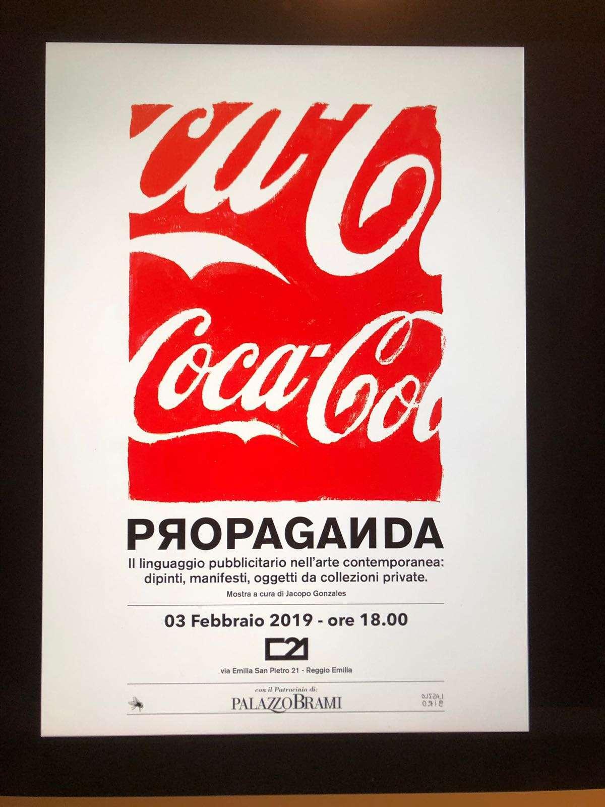 """A Reggio Emilia la """"Propaganda"""" di Spazio C21"""