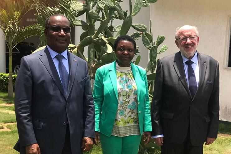 Cecile Kyenge, l'asso di Bruxelles in Africa
