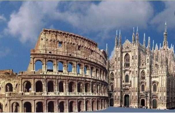 Roma Milano andata e ritorno