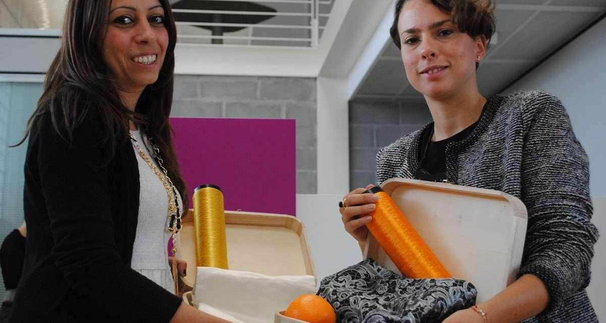 Orange Fiber: la start up al femminile che impiega le arance per produrre tessuti sostenibili