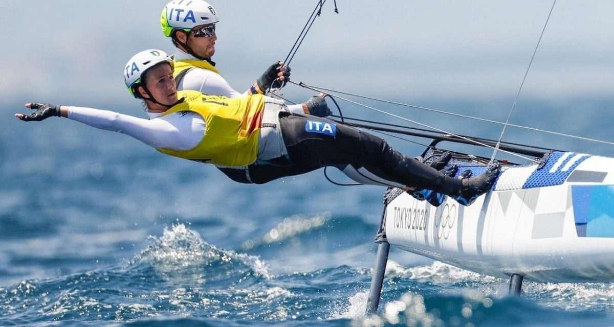 Nacra 17: Banti e Ruggero vincono a Tokyo uno storico oro nella vela